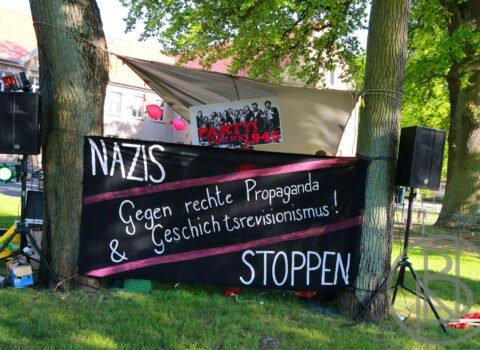 Aktionen in Demmin am 8. Mai 2020